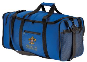 BG114 Packable Travel Duffle Royal