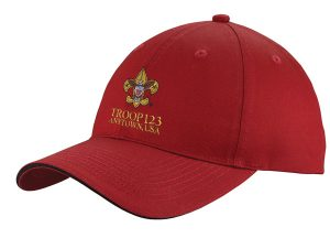 C919 Sandwich Bill Cap Red