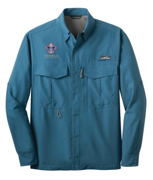 EB600 LS Fishing Shirt Gulf Teal