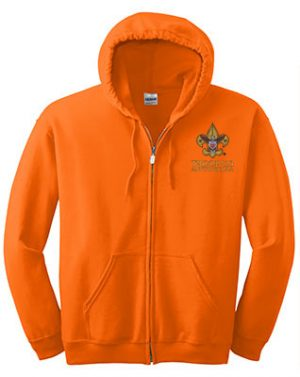Full_Zip_Hooded_Sweatshirt_SafetyOrange_Embroidered