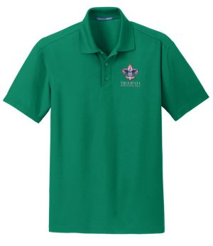 K572 Grid Polo Jewel Green